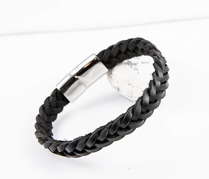 BM568-1 Плетеный браслет из натуральной кожи фото 08