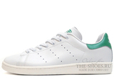 Кроссовки Мужские Adidas Stan Smith 2016 White Green