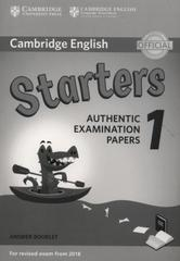 NEW C Young LET  Starters 1  Answer Booklet
