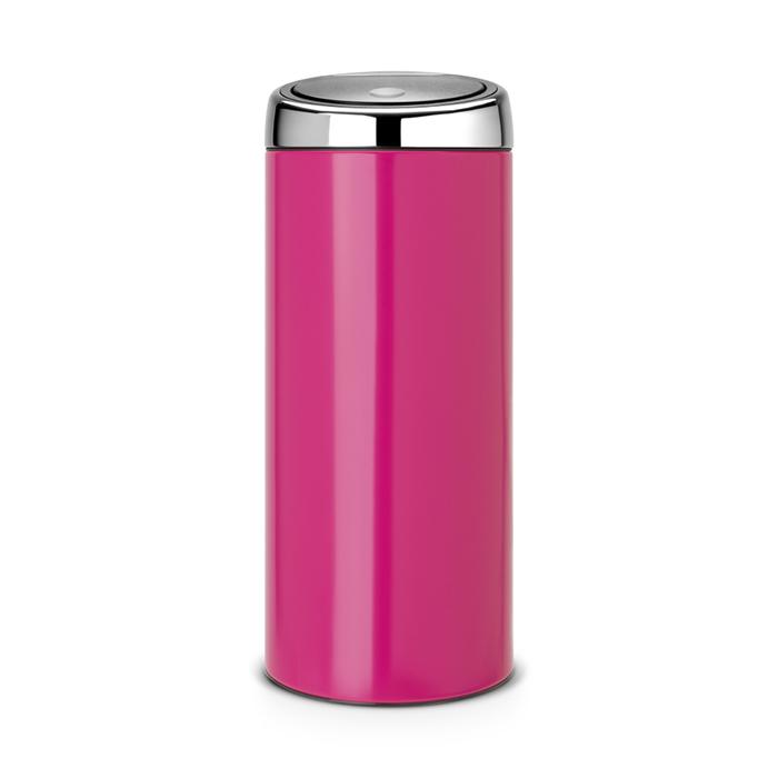 Мусорный бак Brabantia Touch Bin (30л), Розовый, арт. 481987 - фото 1