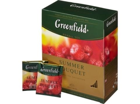 Чай Гринфилд Summer Bouquet в пакетиках (100 шт)