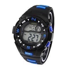 Часы наручные W-F77, с будильником, календарём и секундомером