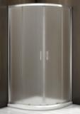 Душевой уголок BAS Latte R-100-G-WE 100x100 матовое