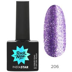 Гель-лак RockNail Insta Star 206 Katy, 10мл.