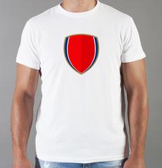 Футболка с принтом FC Arsenal (ФК Арсенал) белая 0013