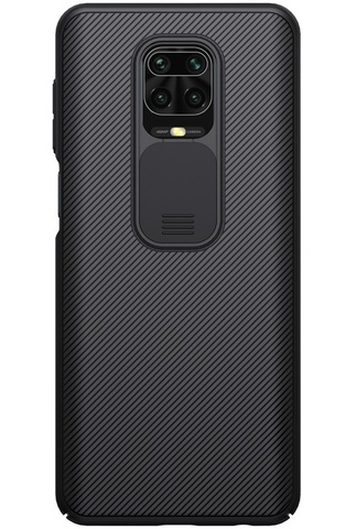 Чехол от Nillkin для Xiaomi Redmi Note 9 Pro и Note 9S, серия CamShield Case с защитной крышкой для камеры