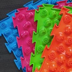 Массажный коврик Колючки (Акупунктурный) мягкий модульный коврик-пазл