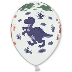 Воздушный шар с Динозавриками