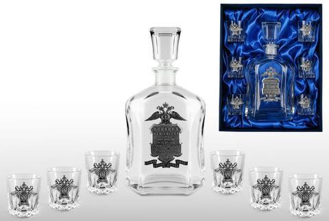Подарочный набор для водки со штофом «Полиция»
