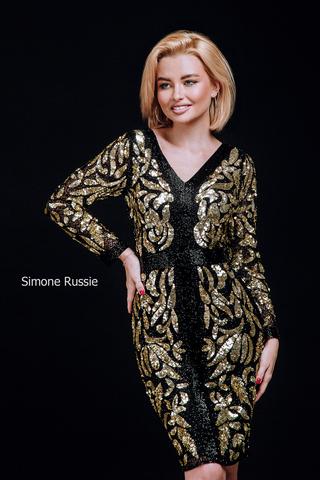 Simone Russie SR1946 Элегантное платье