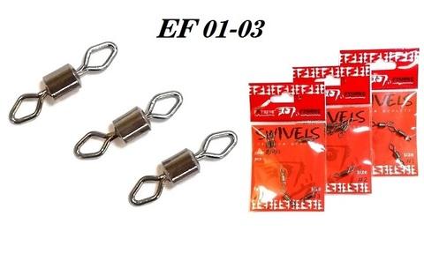 Вертлюг Extreme Fishing арт. 01-03 №1/0 (упак. 4 шт.)