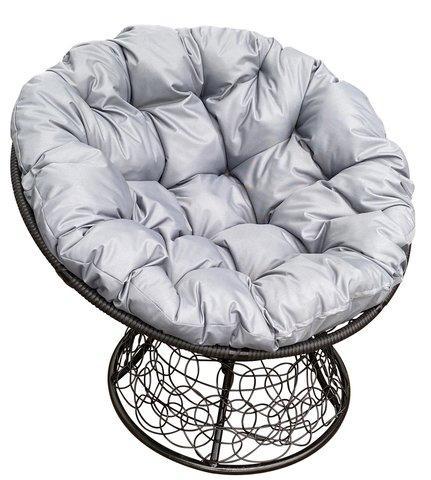 Кресло «Папасан» мини black/grey