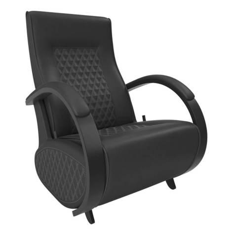 Кресло глайдер Balance 3 экокожа (с накладками)
