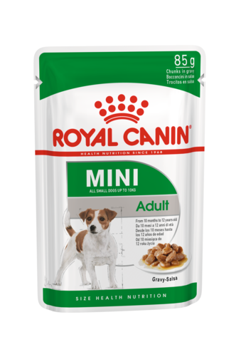Влажный корм для собак Royal Canin Mini Adult в соусе 0,085 кг