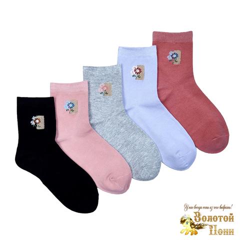 Носки хлопок подрост/женские (36-41) 210407-Z9896