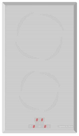 Варочная панель электрическая Zigmund & Shtain CIS 030.30 WX