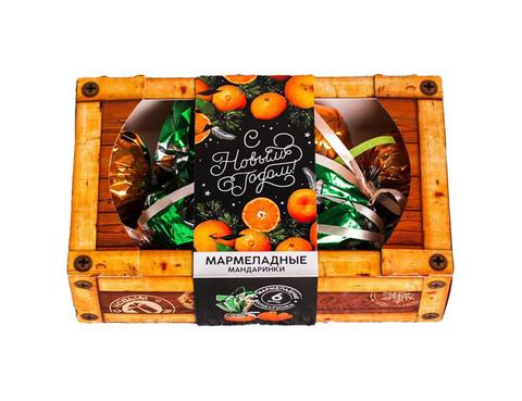Мармеладные мандарины «С Новым годом»