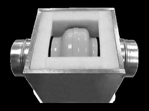 Короб под вентилятор SHUFT d.100 (100 S)