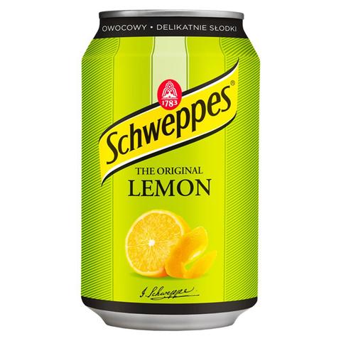 Газированный напиток Schweppes The Original Lemon со вкусом лимона 330 мл