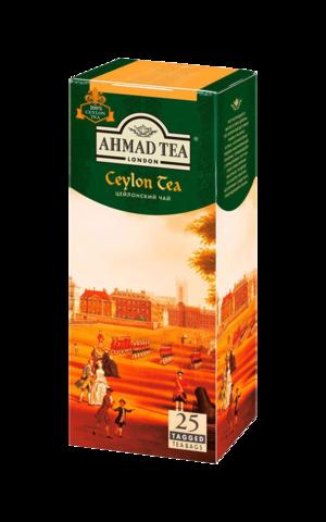 Чай черный Ahmad tea Ceylon в пакетиках, 25 шт