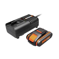 Комплект WORX3601:  1 аккумулятор 4 Ач и зарядное устройство на 2А