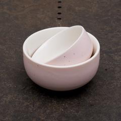 Фарфоровая пиала, розовая