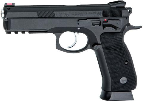 Страйкбольный пистолет CZ SP-01 SHADOW 6мм, металлический, с блоубэком (подвижный затвор), грингаз (Артикул 18409)