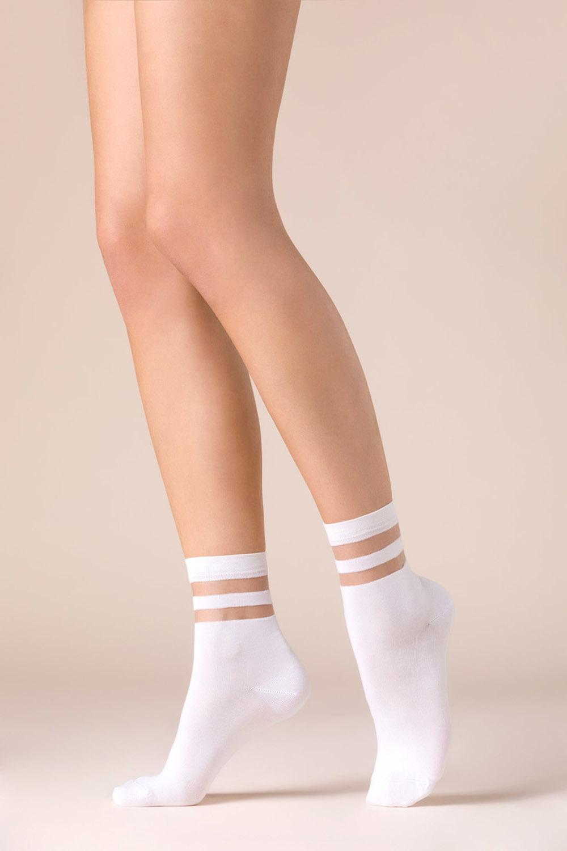 Белые носочки Cami с мягкой резинкой