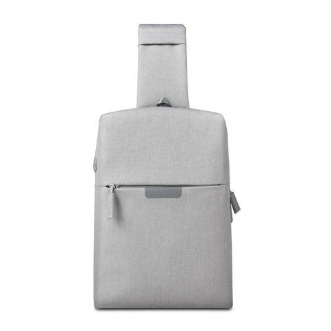 Рюкзак на одной лямке WiWU Onepack серый