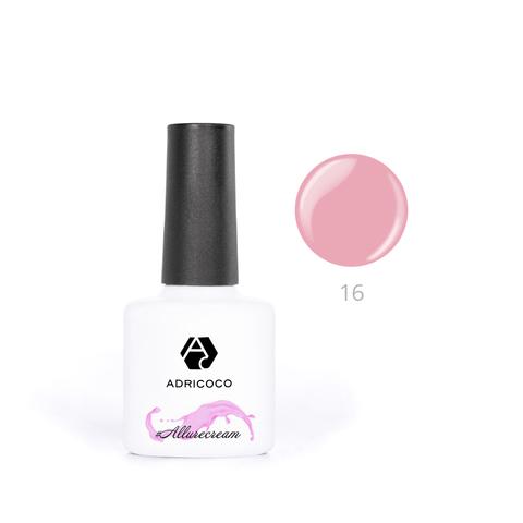 Гель-лак ADRICOCO Est Naturelle №14 камуфлирующий ярко-розовый (8 мл.)
