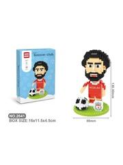 Конструктор Wisehawk & LNO Мохамед Салах 451 деталь NO. 2641 Mohamed Salah Soccer club