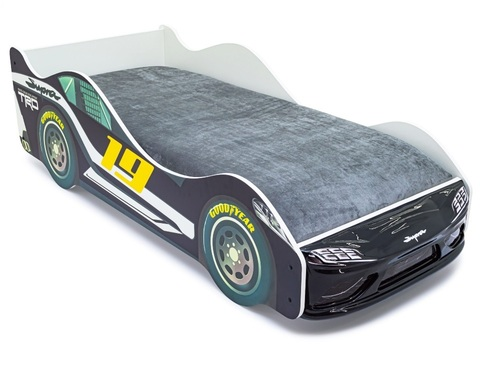 Кровать-машинка СУПРА-3D с подъемным механизмом