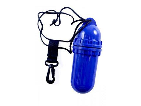 Водонепроницаемый пластиковый контейнер, синий 15,5х5,5 см; ProBlue
