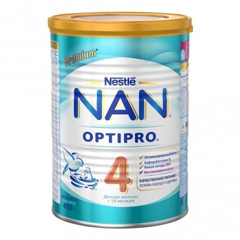 NAN® 4 OPTIPRO®  Детское молочко с 18 месяцев 400гр