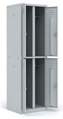 Шкаф двухсекционный с 4-мя отделениями ШРМ - 24