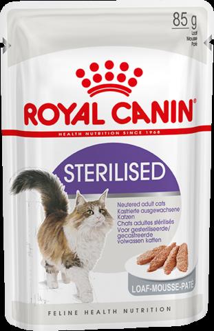 Royal Canin Sterilised паштет для стерилизованных кошек