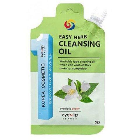 Гидрофильное масло с экстрактами трав Eyenlip Easy Herb Cleansing Oil