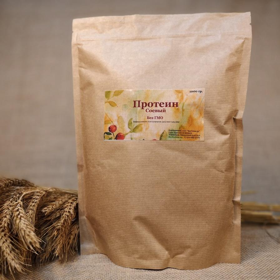 Фотография Протеин соевый, 1 кг купить в магазине Афлора