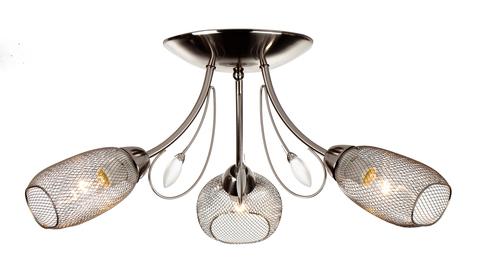 Потолочный светильник Escada 654/3P E14*60W Satin nickel