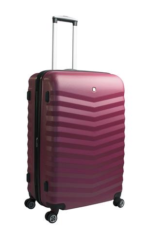 Чемодан средний WENGER FRIBOURG 69x41x27 см., 64 л. (SW32300167) цвет красный, АБС-пластик | Wenger-Victorinox.Ru