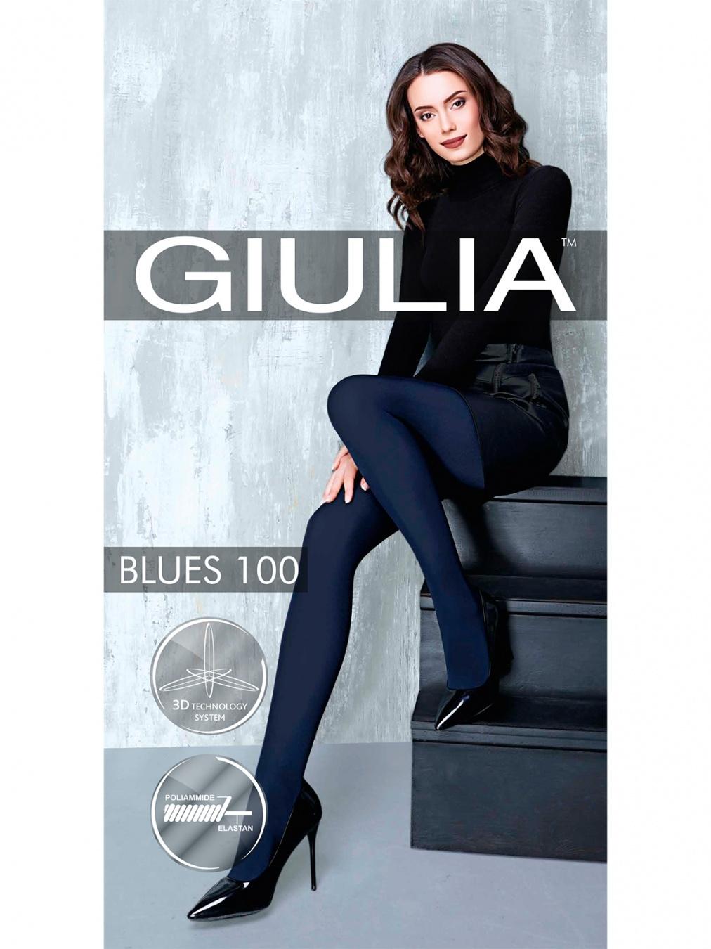 Giulia BLUES 100 колготки женские