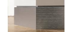 Алюминиевый плинтус Progress Profiles для стен из гипсокартона Chennel 2000 мм