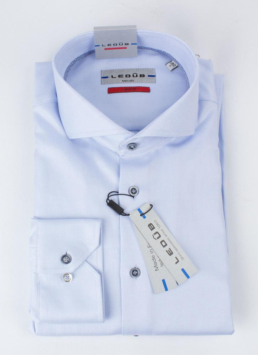 Рубашка Ledub slim fit 0135707_120-140-000-SF-Blue