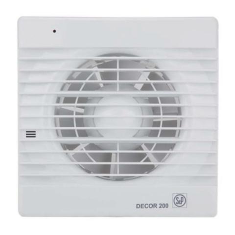 Накладной вентилятор Soler&Palau Decor 100CH (датчик влажности)