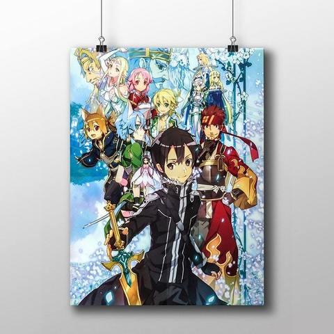 Плакат с героями ALO