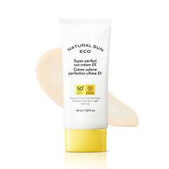 Солнцезащитный крем  THE FACE SHOP Natural Sun Eco Super Perfect Sun Cream EX SPF50+ PA++++ 45ml
