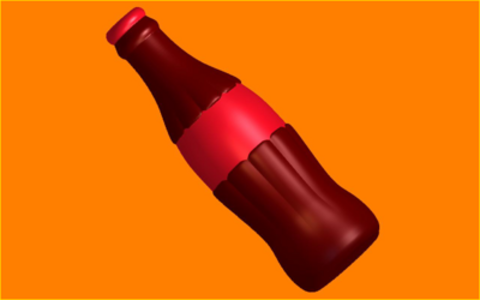 Бутылка. Форма для мыла пластиковая