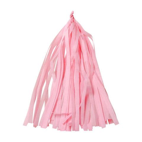 Гирлянда Тассел, розовая