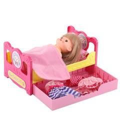 Kawaii  Кровать с ящиком для куклы Мелл (512463)