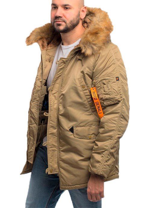 Куртка Аляска  N-3B  Husky Denali  2019 (хаки - khaki)